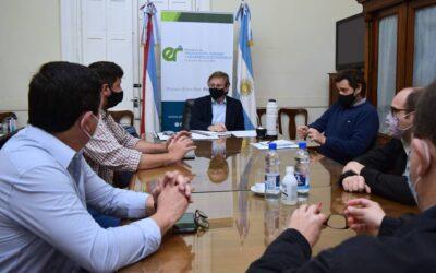 Reunión CET y Juan J. Bahillo: ayudas al sector por más competitividad