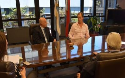 Bordet acordó con el CFI acompañamiento para el turismo y misiones comerciales