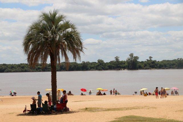 En Entre Ríos las playas serán el gran atractivo turístico este fin de semana